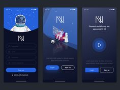 Noway Sign In & Sign Up by Ngầu