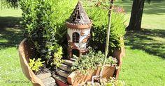 How toturn your broken pots into brilliant mini-gardens