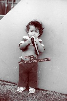 Little Bruno Mars ♥