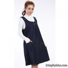 d20f54ba742 L XL 2013 Autumn New Fashion Maternity Clothing Denim One-Piece Tank Dress  for Pregnant Women Suspender Skirt Pregnancy Overalls