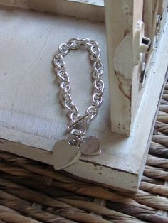 Another view of the chunky cable link bracelet