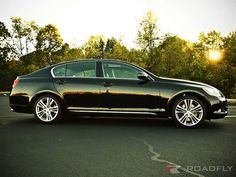 Lexus GS450h, he likes this one!