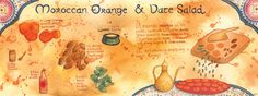 moroccan orange and date salad