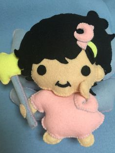 Felt made personalized plush toy Little Twin Stars themed party