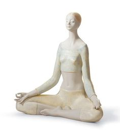 01018057  YOGA I   Issue Year: 2004  Sculptor: Javier Molina  Size: 26x24 cm