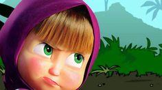 Masha and The Bear - Nursery Rhymes - songs - spiderman