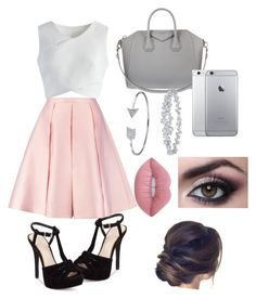 """""""Sunday Church"""" by urtalking2amy on Polyvore featuring Jessica Simpson, Emilia Wickstead, Chicwish, Givenchy, Bling Jewelry, Harry Winston and Lime Crime"""