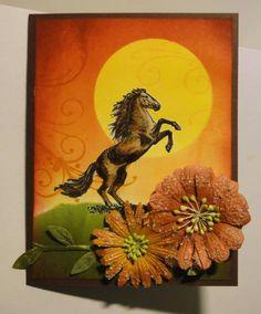 Inkadinkado - Sunset horse