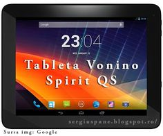 Review Tableta Vonino Spirit QS ~ Sergiu Spune !