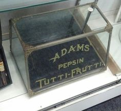 Adams Pepsin Chewing Gum Display Case