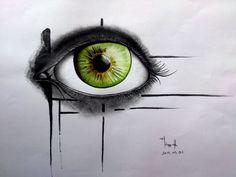 the green eye