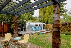 A Passion for Vintage Trailers - NYTimes.com. Instead or adding an expensive addition to their house in Mill Valley, Calif,. Marsha Heckman and her husband, Floyd, bought a 1969 Airstream and had it lifted by crane into their backyard.