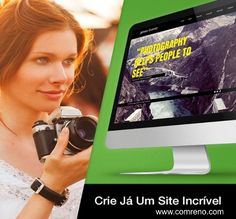 Veja Como Criar Um Site Pela Primeira Vez Em... http://www.comreno.com/#!webdesign06/c210k