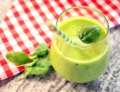 Green Smoothie Mascarpone Creme, Smoothie, Green, Raspberries, Smoothies