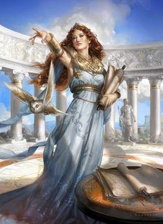 Athene or Athena: Greco-Roman Mythology Greek And Roman Mythology, Greek Gods And Goddesses, Rome Antique, Athena Goddess, Minerva Goddess, Sacred Feminine, Ancient Greece, Mythical Creatures, Percy Jackson