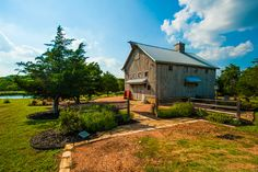 Greenville Barn Home - Small House Swoon Small House Swoon, Converted Barn, Loft, Traditional Exterior, Modern Barn, Old Barns, Classic House, Cozy House, Restoration