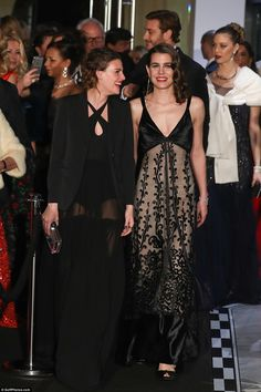 Charlotte Casiraghi was joined by the actress Juliette Maillot who has been friends with the royal since childhood