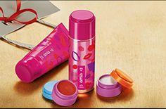 Presente Natura Amis - Desodorante Colônia + Balm Labial + Glitter Iluminador + Desodorante Hidratante + Embalagem Desmontada