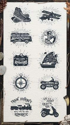 Adventure Vintage Badges Template Vector EPS, AI. Download here: http://graphicriver.net/item/adventure-vintage-badges-part-1/15829565?ref=ksioks