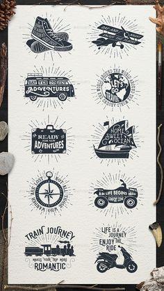 Adventure Vintage Badges Template Vector EPS, AI. Download here: http://graphicriver.net/item/adventure-vintage-badges-part-1/15829565?ref=ksioks