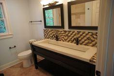 bathroom+trough+sink | trough sink bathroom - Google Search