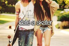 Yes please. He could teach me to skate... BEST DATE EVER! <3