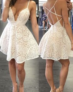 The best wedding dresses Backless Homecoming Dresses, Hoco Dresses, Cute Dresses, Sexy Dresses, Dress Outfits, Casual Dresses, Fashion Dresses, Formal Dresses, Strapless Dress