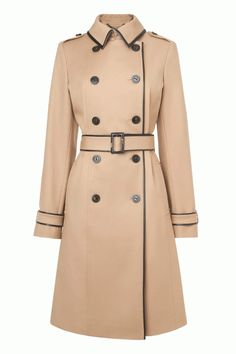 L.K. Bennett Kiki Double Breast Trench Coat, £345