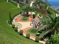 bahai gardens israel - Google Search