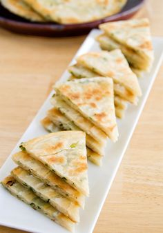 Green Onion Pancake ,, I miss my grandma's 葱油餅 Beignets, Scallion Pancakes Chinese, Recipe Using, Basic Recipe, Cooking Recipes, Pancake Recipes, Pancake Flavors, Pancake Dessert, Waffle Recipes