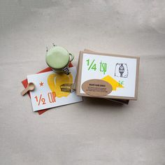 Gimme Gimme!! Recipe Themed cards.