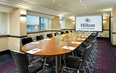 Board Rooms 1, 2 and 3 at Hilton London Metropole