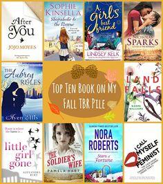 Top Ten Books on my Fall TBR pile