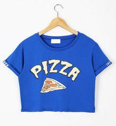 Pizza crop top
