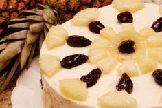 Receitas pra Você: Torta Mousse de Abacaxi