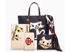 Karl Lagerfeld collection Le Monstre Choupette, for sale in November. Can't wait!