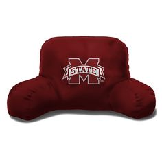 Mississippi State Bulldogs NCAA Bedrest Pillow