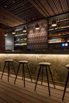 Loof | Singapore | Iluminación restaurantes