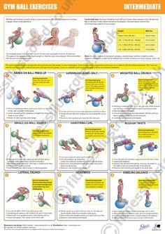 Fitness Illustrated - Instructional exercise illustrations from illustrator Matt Lambert