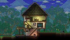 cute house on Terraria