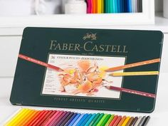 Check out Faber-Castell Polychromos Colour Pencils Tin (36pc) on