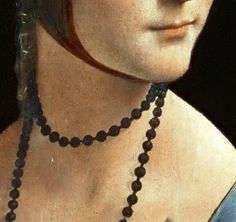 Leonardo da Vinci, Die Dame mit dem Hermelin / Lady with an ermine (detail) Leonardo Da Vinci Renaissance, Renaissance Men, Lady With An Ermine, Andrea Mantegna, My Eyes, Sculpting, Detail, Beauty, Artists