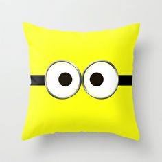 minion Throw Pillow by Cbrocoff - $20.00