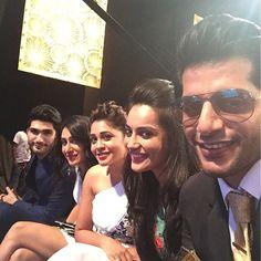 Qubool Hai at Gold Awards - Varun, Teejay, Amrapali, Surbhi and KVB <3
