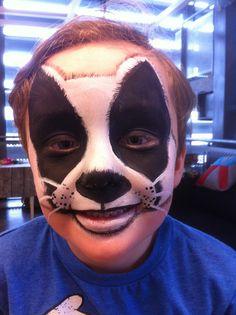Badger.  Artist Kate Cox (Funky Monkey Face Painting & Body Art)