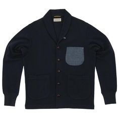 Universal Works Contrast Pocket Tarleton Jacket - Navy  $75