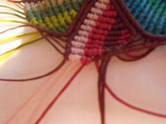 ΠΟΛΥΧΡΩΜΟ ΜΕΝΤΑΓΙΟΝ – kentise Macrame Art, Friendship Bracelets, Projects To Try, Jewelry, Fashion, Macrame Earrings, Bags, Moda, Jewlery