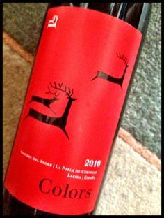 El Alma del Vino.: Cérvoles Celler Colors 2010.