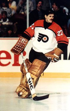 Kinetics: Kinetics: Hockey has ben a passion for me ever since I was young Ron Hextall Flyers Hockey, Ice Hockey Teams, Hockey Goalie, Hockey Games, Hockey Players, Hockey Mom, Maurice Richard, Philadelphia Flyers, Nhl