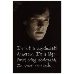 Benedict Cumberbatch as Sherlock Holmes on the BBC's modern day version of the show.